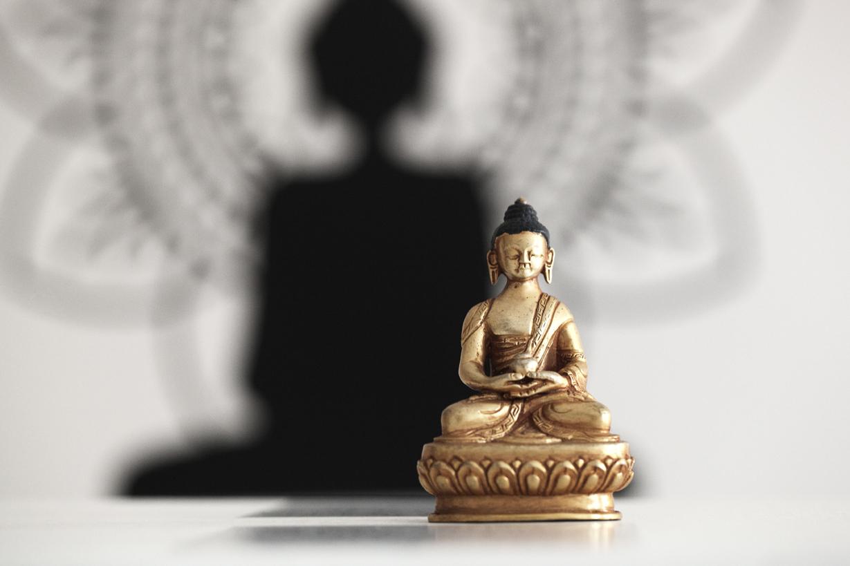 Buddha billede - Destress